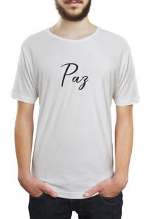 Camiseta Hunter Paz Branca