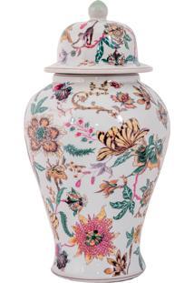 Vaso Decorativo De Porcelana Buchart M - Linha Harmony