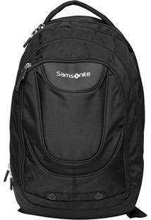 "Mochila Samsonite Metropolis Business Para Notebook 17"" - Masculino-Preto"