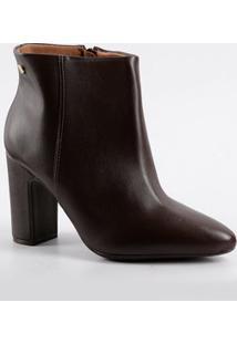 Bota Feminina Ankle Boot Cano Curto Vizzano 3068100