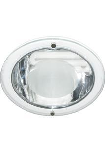 Luminária De Embutir Redonda Branca 1Xe27 Bonin 4262Bc