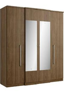 Guarda-Roupa 4 Portas Thb Splendore Glass, Carvalho Sensitive