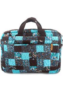 Capa Para Notebook Ivy Em Giulianna Fiori Patchwork Original