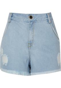 Shorts Jeans Vintage (Jeans Claro, 40)