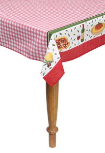 Toalha De Mesa Quadrada Teka 140X140 Basic Jantar Italiano
