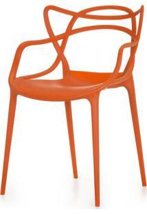 Cadeira Master Allegra Polipropileno Laranja - 25870 - Sun House