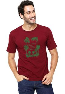 Camiseta Rgx La Capri Med Br Bordô