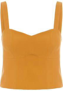 Blusa Feminina Top Gaia - Amarelo