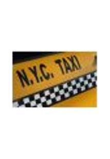 Painel Adesivo De Parede - Nyc Taxi - 261Pn-G