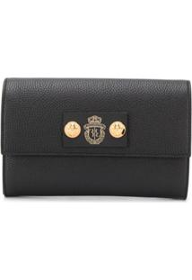 Billionaire Embossed Logo Clutch - Preto
