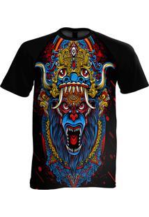Camiseta Manga Curta Stompy Psicodelica 8 Preto