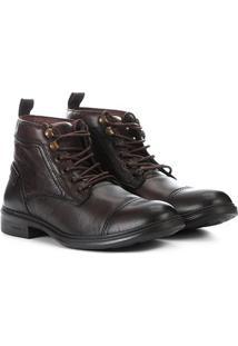 Bota Pipper German Boot - Masculino-Marrom Escuro