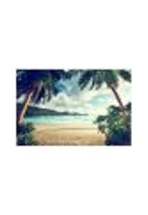 Painel Adesivo De Parede - Praia - 395Pn-G