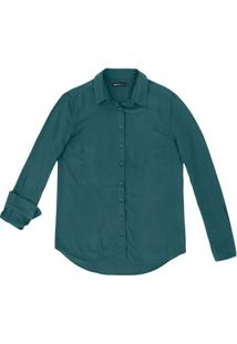 8a749ef632bea Hering. Camisa Feminina Básica Em Tecido De Viscose ...