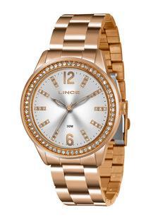Relógio Feminino Strass Lince Lrr4441L S2Rx