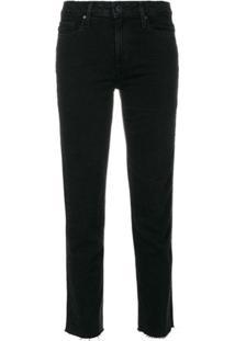 Paige Calça Jeans Cropped - Preto