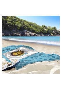 Toalha De Praia / Banho Leáozinho Único