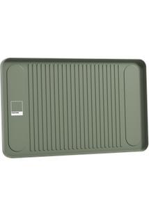 Bandeja Flat 42 X 26 X 2 Cm Verde Pantone Coza