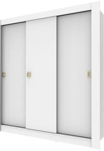 Guarda Roupa Master 3 Portas Branco Madesa