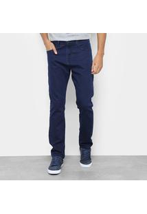 Calça Jeans Calvin Klein Masculino Five Pock Athletic Taper Cm9Oc11Dr129 - Masculino