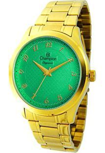 Relógio Analógico Champion Cn27723G - Feminino-Dourado
