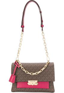 Michael Michael Kors Medium Cece Shoulder Bag - Marrom