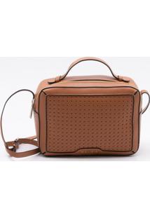 Bolsa Shoulder Bag Couro Canela - P
