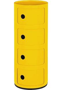 Módulo Castelli 4 Andares - Amarelo
