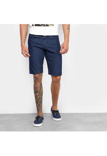 Bermuda Jeans Rock Blue Básica Masculina - Masculino
