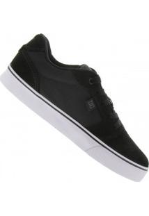 Tênis Dc Shoes Anvil 2 La - Masculino - Preto/Prata