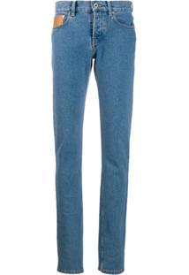 Paco Rabanne Calça Jeans Skinny - Azul