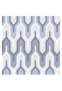 Papel De Parede Adesivo Decoração 53X10Cm Azul -W22546