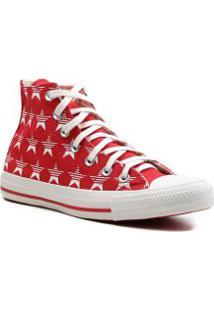 Tênis Feminino Cano Alto Estrelas All Star Converse Chuck Taylor