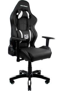 Cadeira Gamer Mx Twelve Preta E Branca