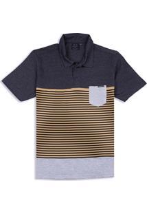 Camisa Polo Classic Block Oakley