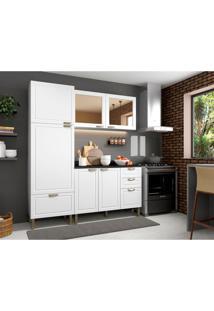 Cozinha Compacta Nevada Iii 6 Pt 4 Gv Branca