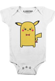 Cuti Pikachu - Body Infantil