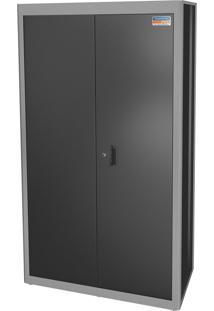 Armário 2 Portas Com Prateleira Cinza 44955410 Tramontina