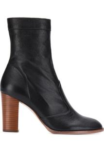 Marc Jacobs Ankle Boot Chunky Sofia Loves - Preto