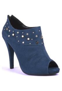 Ankle Boot Com Tachas - Vizzano - Feminino