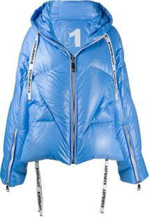 Khrisjoy Oversized Padded Jacket - Azul
