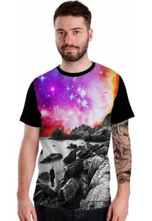 Camiseta Stompy Rocks - Masculino