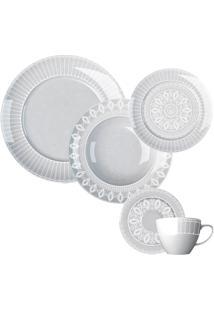 Aparelho De Jantar 30 Peças Palace - Germer - Branco