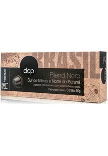 Cápsulas Dop Espresso Blend Nero - Compatível Com Cafeteiras Nespresso
