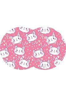 Tapete Pet Gato Pink 55X35Cm