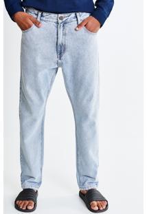 Calça Vintage Em Jeans