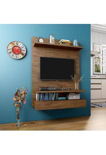 Home Suspenso Para Tv Até 40 Polegadas 1 Gaveta Pa13 100 Mdf 120 X 90 X 40 Nobre - Dalla Costa