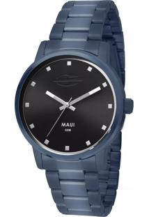 Relógio Analógico Mormaii Mo2035Fs4P Azul