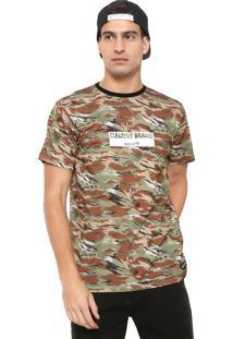 Camiseta Element Sawtooth Camo Verde