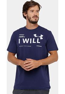 Camiseta Under Armour I Will Masculina - Masculino
